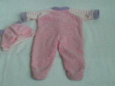 Adorable Baby Doll 'Teddy Babygro' 2-Piece Outfit